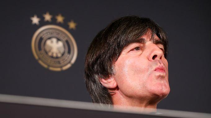Joachim Löw: Was zählt, ist jetzt erst einmal die WM.
