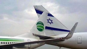 Kaum zu glauben, aber wahr: Germania-Boeing rammt israelisches Flugzeug