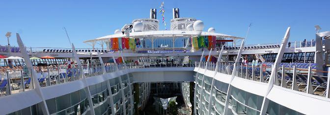 Mehr Attraktionen für mehr Gäste: Symphony of the Seas ist neue Rekordhalterin