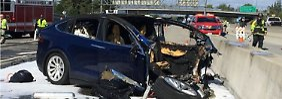 Apple-Mitarbeiter getötet: Assistenzsystem warnte Tesla-Fahrer