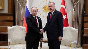 Syriengespräche im Fokus: Erdogan und Putin feiern Bau des ersten türkischen Atomkraftwerks