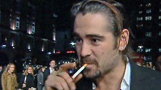Promi-News des Tages: Colin Farrell weist sich selbst in Entzugsklinik ein