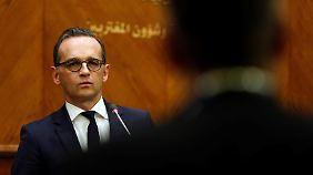 Außenminister in Jordanien: Maas pocht auf Nachzug von 1000 Flüchtlings-Angehörigen