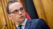 Absage an CSU-Gesetzesentwurf: Maas pocht auf Nachzug für 1000 Flüchtlinge