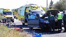 Deutsche bei Unfall verletzt: Frau rast in Radfahrer-Gruppe auf Mallorca