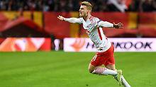 Nächster Sieg in Europa League: RB Leipzig steuert aufs Halbfinale zu