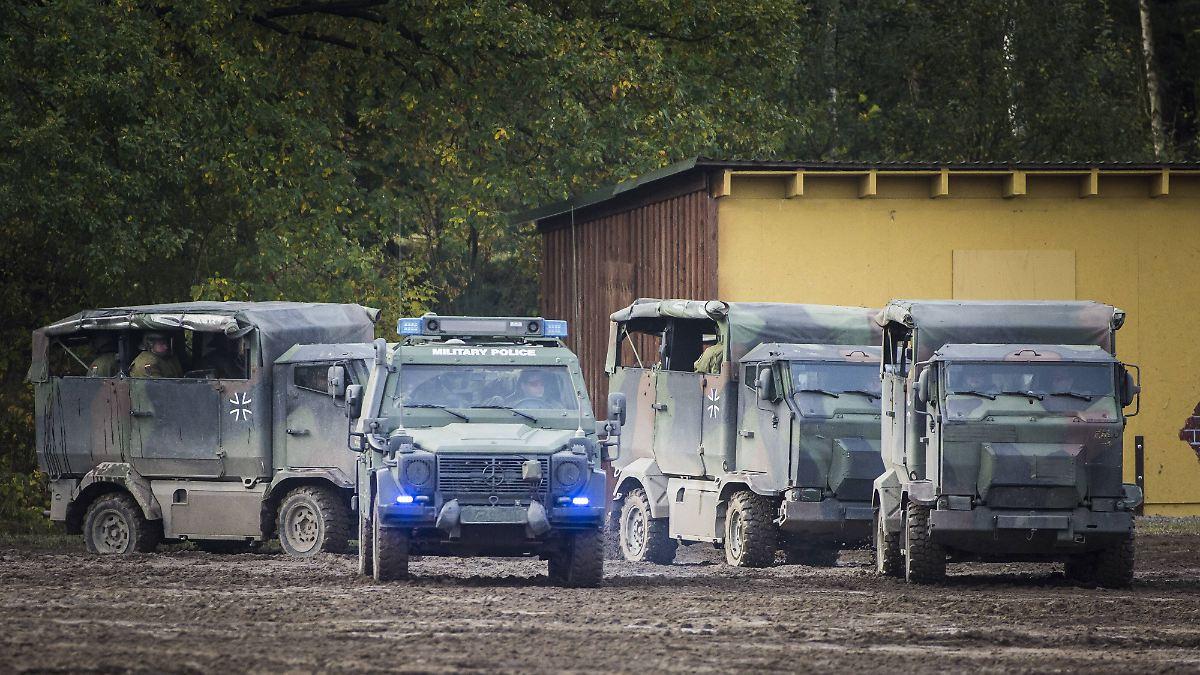 Bundeswehr soll Radmuttern kontrollieren