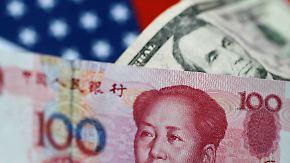Handelsstreit zwischen USA und China: Schwacher Yuan befeuert Furcht vor Währungskrieg
