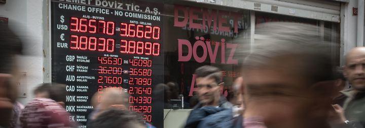 Die türkische Währung steht zuletzt erheblich unter Druck.