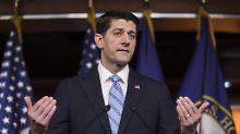 Gerüchte bestätigt: Top-Republikaner Ryan kündigt Rückzug an