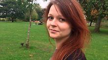 Julia Skripal (hier ein Archivbild) hat noch mit den gesundheitlichen Folgen des Anschlags zu kämpfen.