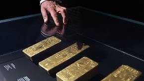 Ausstellung in Frankfurt: Bundesbank öffnet ihre Goldtresore
