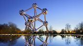 Das Atomium in Brüssel wird am 17. April 60 Jahre alt. Grund genug, sich einmal die Historie des Wahrzeichens anzuschauen.