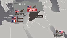 Mehrere Szenarien denkbar: So könnte ein US-Militärschlag in Syrien ablaufen