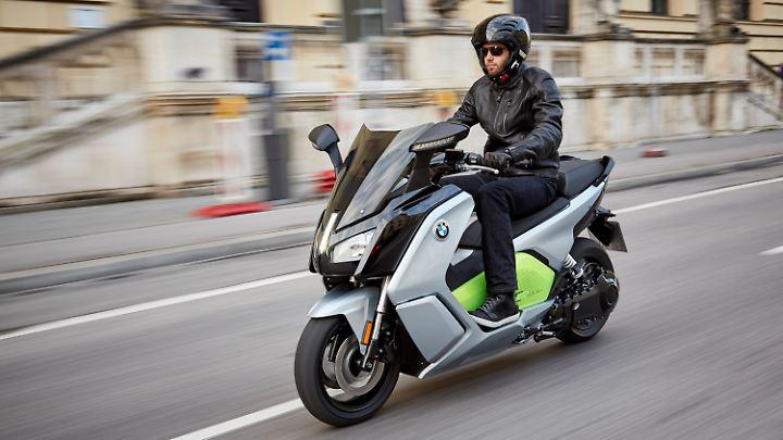Bis heute kein Verkaufsschlager der Maxiscooter C Evolution von BMW.