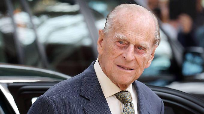 Tankt nun wieder Kraft für Baby und Hochzeit: Prinz Philip.