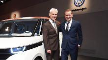 VWs Schicksal bestimmen andere: Müller oder Diess? Ist doch egal!