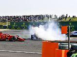 """Vettel zum Verstappen-Crash: """"Damit hat er unsere Rennen zerstört"""""""