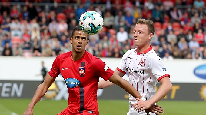 Nix zu holen gab es für Fortuna in Heidenheim.