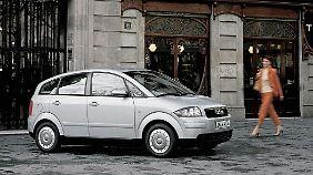 Schön war der Audi A2 nie. Dafür aber ein Raum- und Sparwunder.
