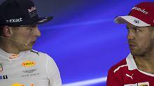 Formel-1-Lehren aus Shanghai: Vettel gibt sich locker, Verstappen lernt dazu