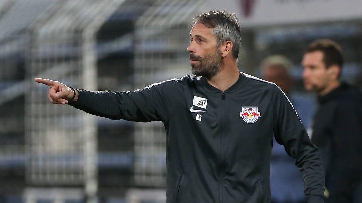 Noch an der Seitenlinie in Salzburg - bald in der Bundesliga?
