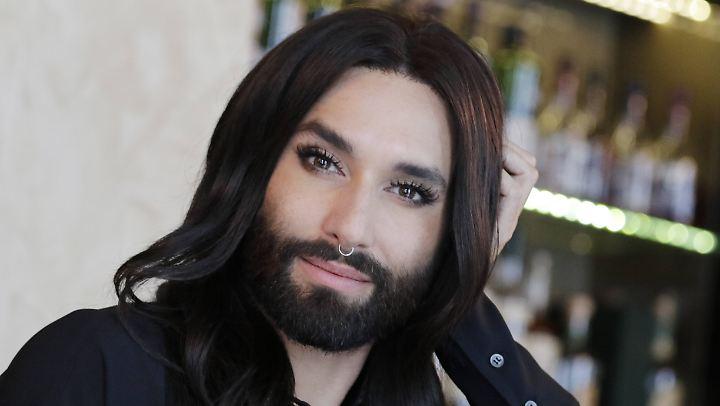 Wird für ihre Offenheit gefeiert: Conchita Wurst.