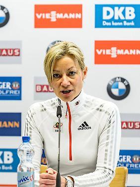 Sie soll im Verband die alleinige Hoheit über das Doping-Verwaltungsprogramm gehabt und anderen Ibu-Mitarbeitern den Zugang verwehrt haben: Nicole Resch.