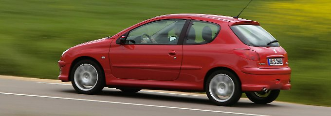 Sportlicher Franzose: Peugeot 206 hat gebraucht seine Tücken