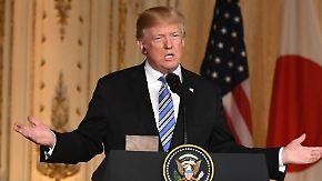 """""""Wenn Treffen nicht fruchtbar verläuft"""": Trump droht mit Abgang bei Nordkorea-Gipfel"""