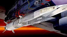 Fast eine Milliarde Dollar teuer: US-Luftwaffe investiert in Hyperschallrakete