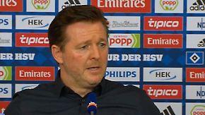 """HSV-Coach stolz auf sein Team: Titz: """"Nicht leicht, dich Woche für Woche zurückzubringen"""""""