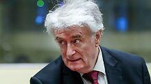 """Berufung im Völkermordprozess: Karadzic: Beweise sind """"Witze und Gerüchte"""""""
