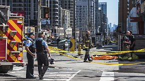 Zehn Tote, viele Verletzte in Toronto: Polizei geht von absichtlicher Todesfahrt aus