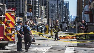 Zehn Tote, viele Verletzte, Motive unklar: Todesfahrer von Toronto ist polizeibekannt