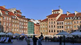 Die Alstadt von Warschau.