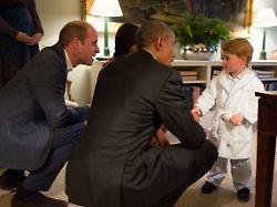 Glückwünsche an Kate und William: Die Obamas freuen sich auf Pyjama-Party