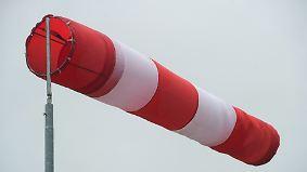 Verregneter Norden: Kräftiger Wind drückt die Temperaturen