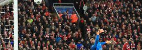 Nach einem verrückten Halbfinal-Hinspiel gegen AS Rom mit insgesamt sieben Toren lebt Liverpools Traum vom Endspiel in Kiew weiter.