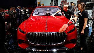 Schaulaufen in Peking beginnt: Maybach-Studie appelliert an die chinesische Liebe zum Luxus