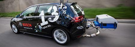 """""""Stickoxid-Problem ist lösbar"""": Bosch kündigt Super-Diesel an"""