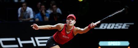 """Hatte nichts zu verlieren"": Kerber düpiert Kvitova in Stuttgart"