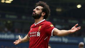 """Riesiger Hype um Liverpool-Star: Fußballwelt huldigt """"Pharao"""" Mohamed Salah"""