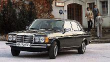 Der Mercedes W123 gehört 41 Jahre nach seiner Markteinführung zu den beliebtesten Oldtimern in Deutschland.