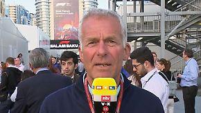 """Christian Danner zum F1-Rennen in Baku: """"Vettel kämpft gegen zwei Mercedes und zwei Red Bull"""""""