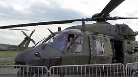Demonstration auf der ILA: Wie läuft ein Bundeswehr-Rettungseinsatz im Ausland?