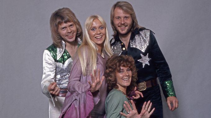 In der Kombi gibt es Abba wohl nie wieder live zu sehen: Björn Ulvaeus, Agnetha Fältskog, Anni-Frid Lyngstad und Benny Andersson (v.l.).