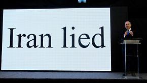 """EU sieht """"Beweise"""" skeptisch: Netanjahu wirft Iran geheimes Atomprogramm vor"""