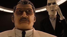 Der Bürgermeister und sein brutaler Gehilfe Major Domo.