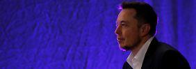 Von Fragen genervt: Elon Musk vernichtet 2,4 Milliarden Dollar